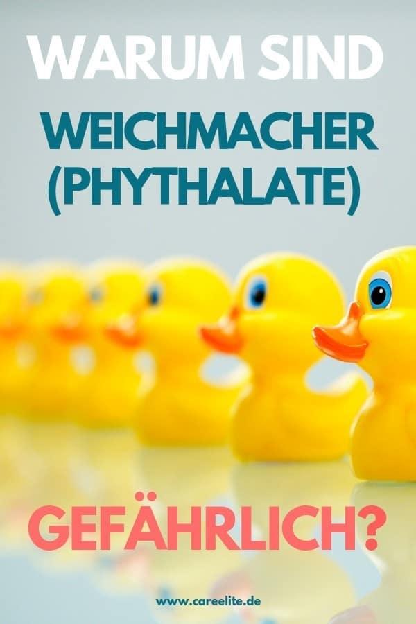Weichmacher Phthalate gefährlich