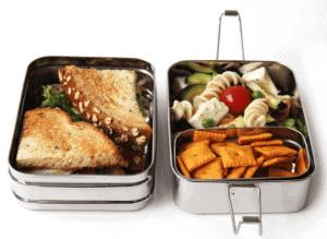 Brotbox aus Edelstahl - Plastikfrei leben