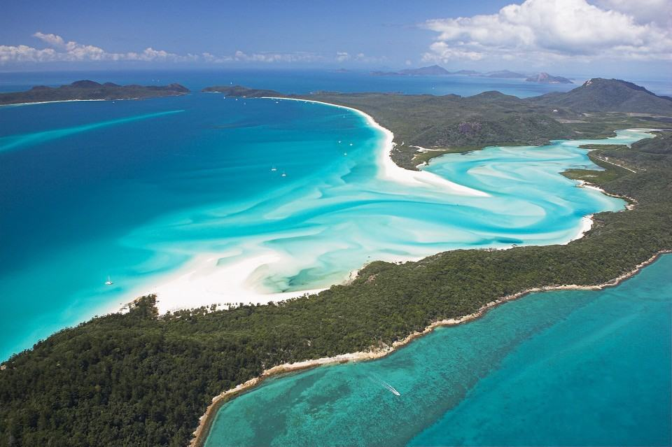 Whitsundays Islands in Australien