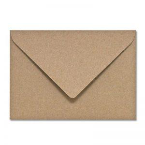 Plastikfreier Briefumschlag Natur Recycling Öko