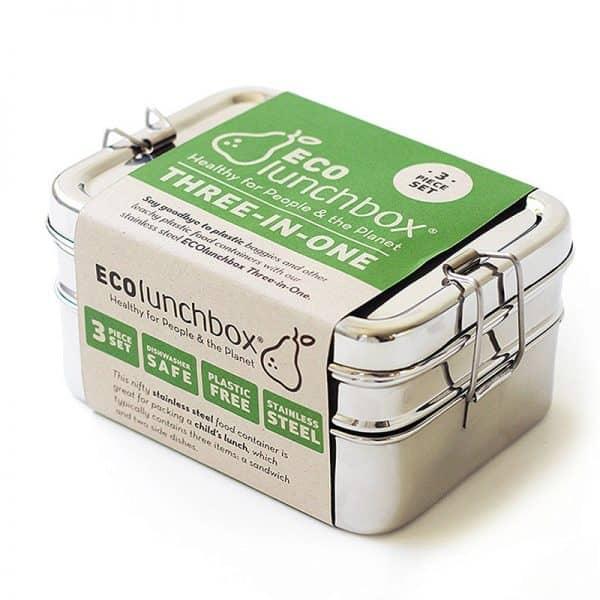 Edelstahl Brotbox ohne Plastik - Lunchbox aus Edelstahl