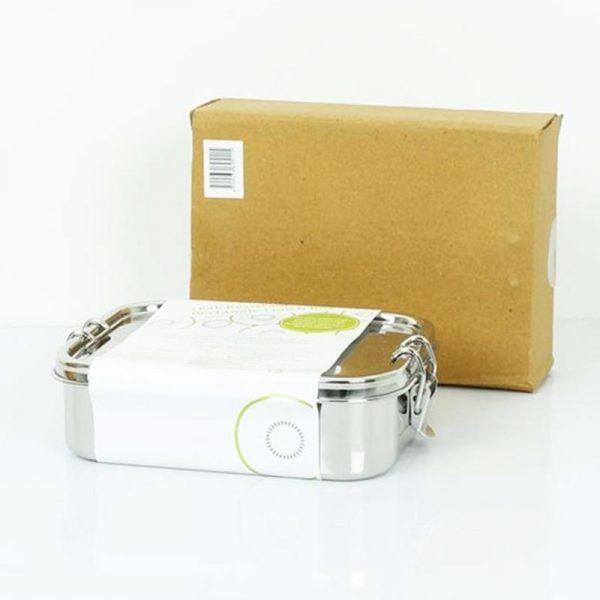 Lunchbox Edelstahl Brotdose ohne Plastik