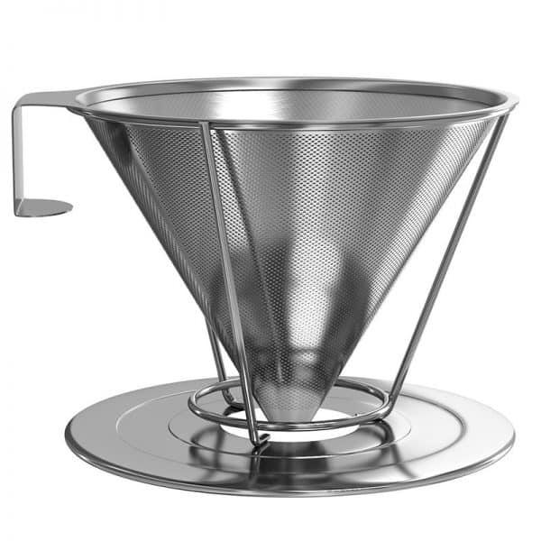 Plastikfreier Kaffeefilter Edelstahl ohne Plastik Kaffee