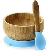Plastikfreie Bambus-Schüssel für Kinder und Babys