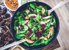 Spinat stärkt das Immunsystem und die Abwehrkräfte
