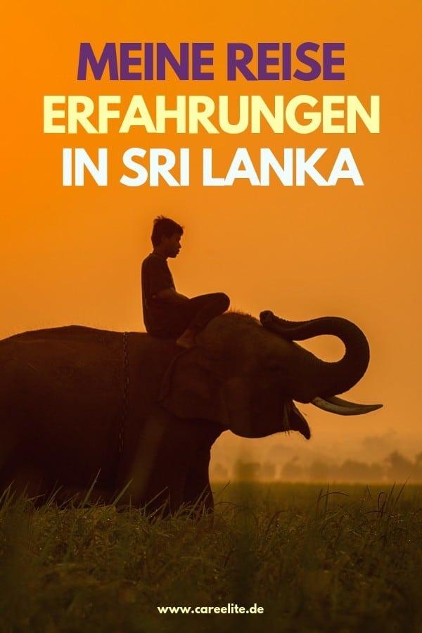 Sri Lanka Reise Tipps Erfahrungen CleanUps