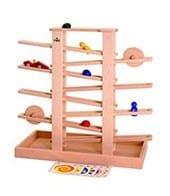 Multibahn aus Holz - Plastikfreies Spielzeug für Kinder