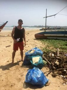 Sri Lanka Reise-Erfahrungsbericht - Plastikmüll in Sri Lanka