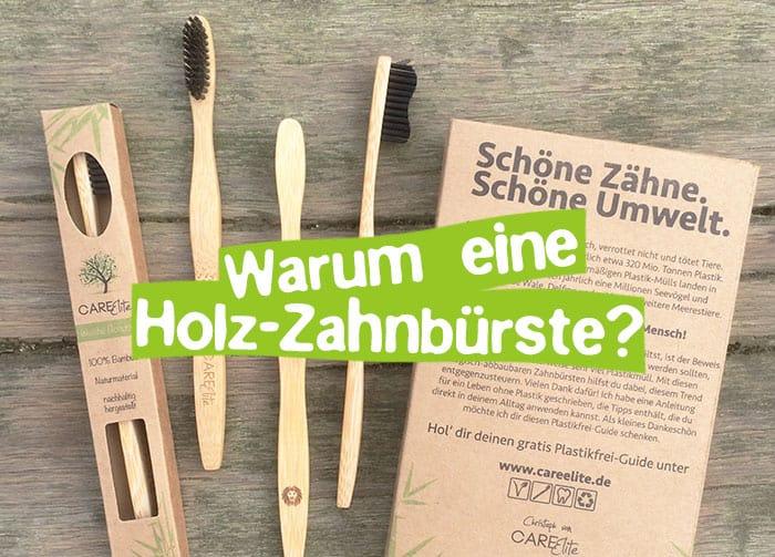 Holzzahnbürste aus Bambus-Holz - Gute Gründe zum Wechsel!