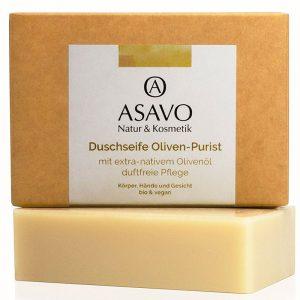 Olivenöl Seife ohne Plastik am Stück im Plastikfrei Shop