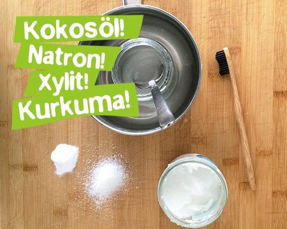 Kokosöl Zahnpasta selber machen - Natürlich ohne Zusatzstoffe