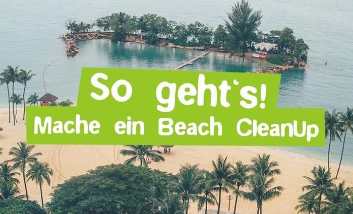 Mache ein Beach CleanUp – So geht's