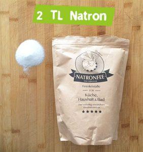 Spülmittel selber machen mit Natron