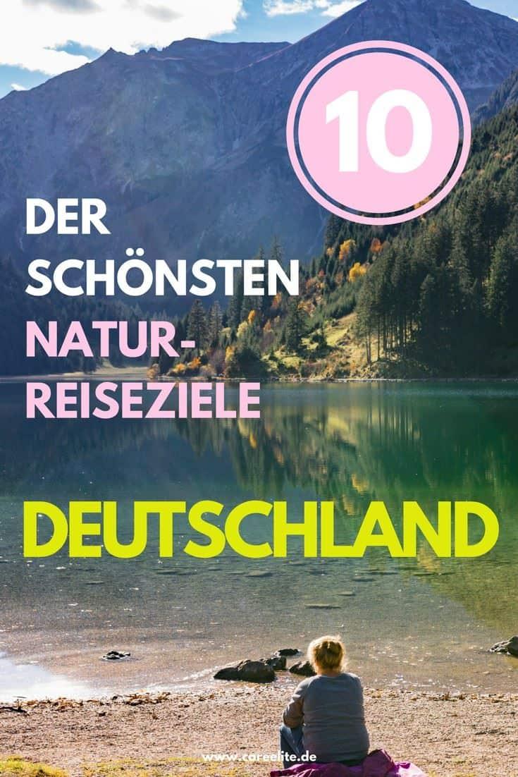 Naturreiseziele in Deutschland