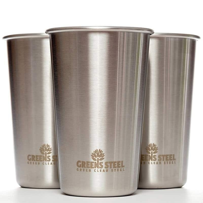 Edelstahl-Tassen im Plastikfrei Online Shop