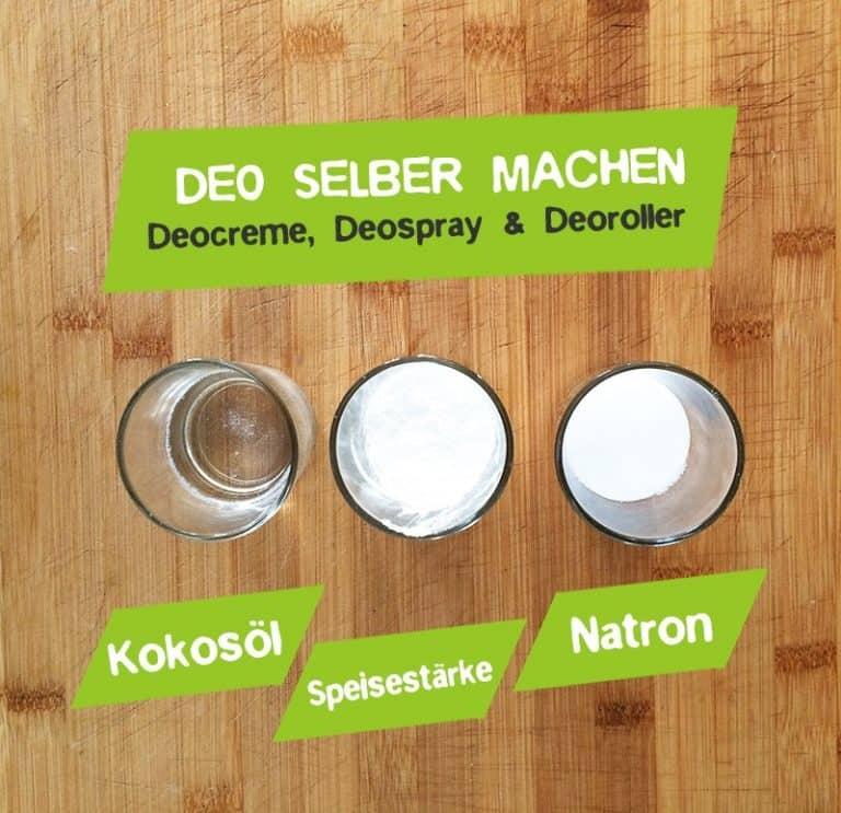 Deo selber machen - Geocreme, Deospray oder Deoroller