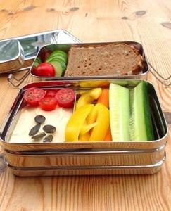 Küche ohne Plastik - Edelstahldose