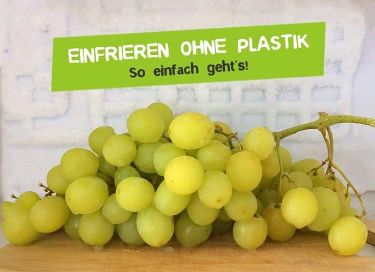 Einfrieren ohne Plastik - Plastikfrei im Glas einfrieren