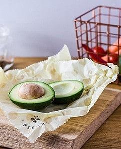 Küche ohne Plastik - Wachspapier