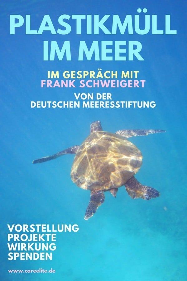 Deutsche Meeresstiftung Interview Plastikmüll