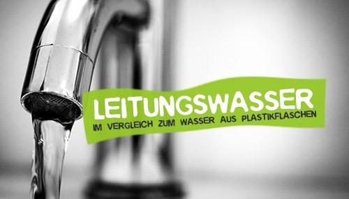 Wasser aus der Plastikflasche - Alternative Leitungswasser