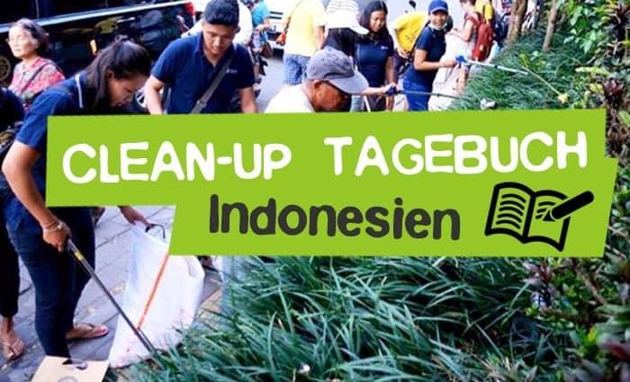 Plastikmüll CleanUp's in Indonesien / Bali Tagebuch