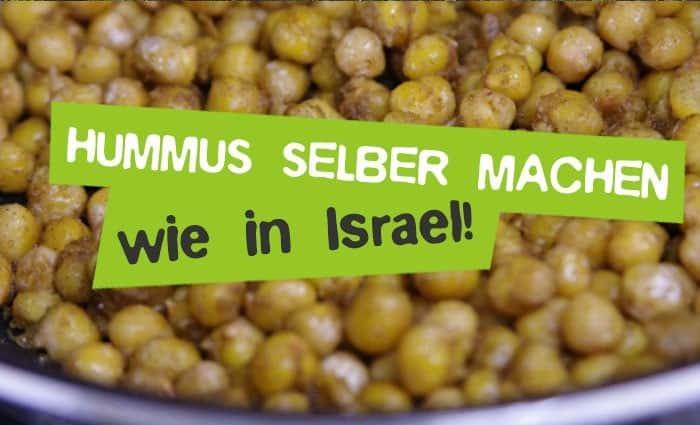 Hummus selber machen - Rezepte & Anleitung