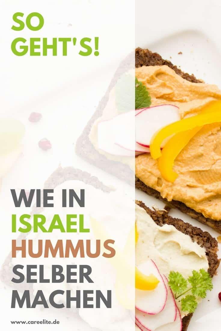 Hummus selber machen Anleitung Rezepte