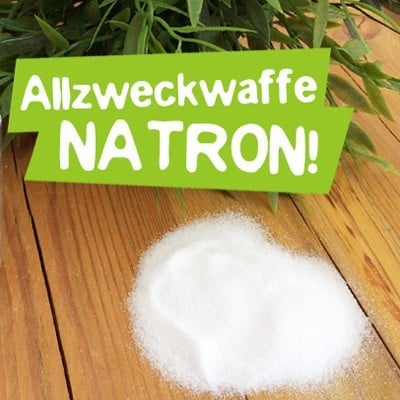 Plastikfreies Bad - Natron
