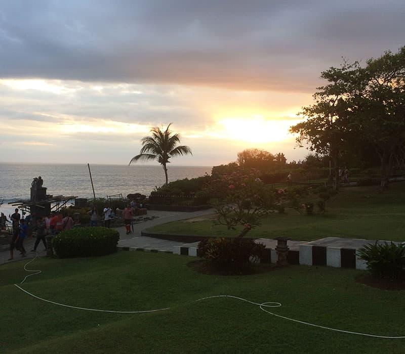 Indonesien Reise Tipps - Sonnenuntergang Tanah Lot