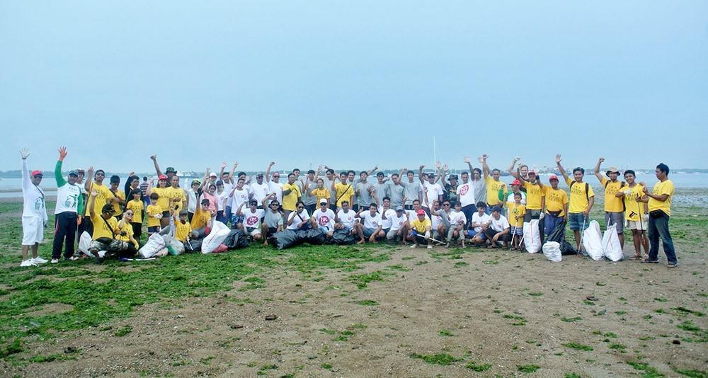 Plastikmüll Beach CleanUp Tagebuch Indonesien