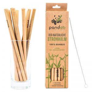 Bambus Trinkhalme - Strohhalme aus nachhaltigem Bambus-Holz