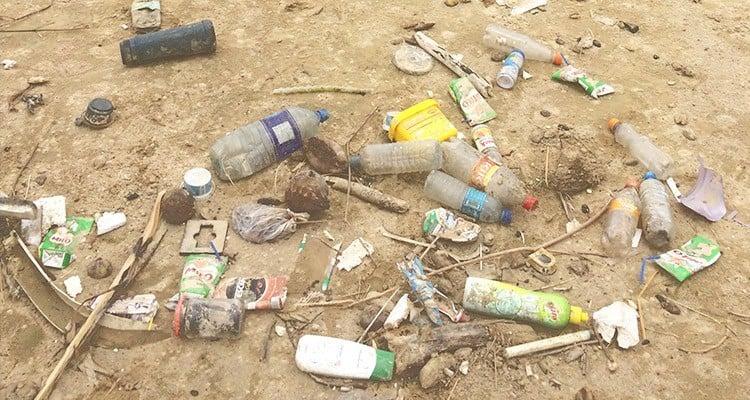 Müllstrudel im Meer - Meeresstrudel aus Plastikmüll