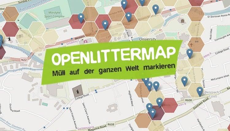 OpenLitterMap - Mit Open Data Plastikmüll markieren!