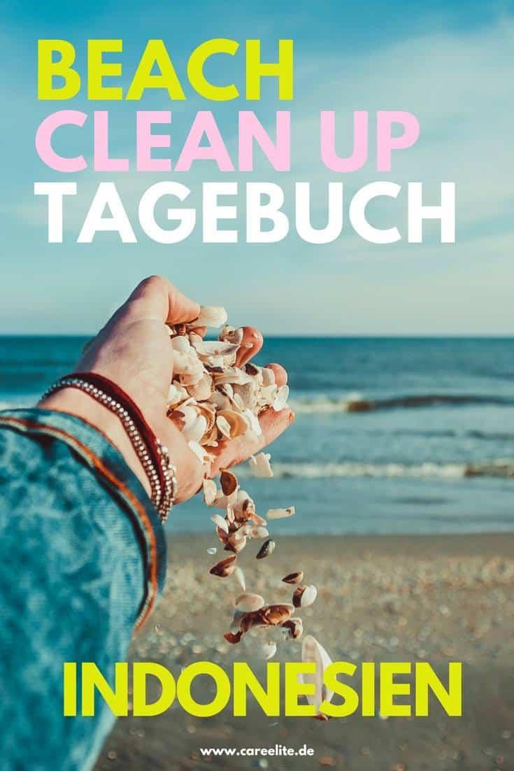 Beach CleanUps Indonesien Tagebuch Strand