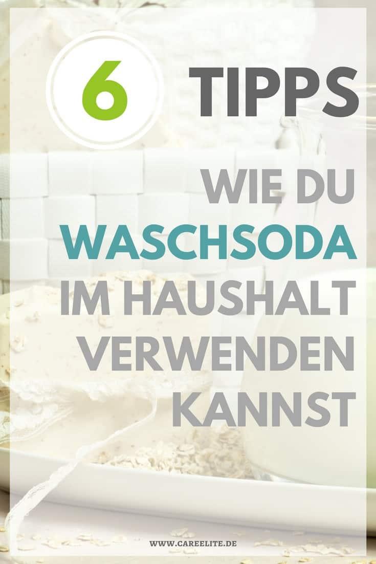 Waschschoda Haushalt Anwendungen Tipps