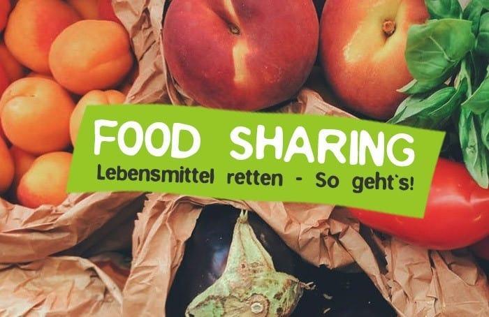Food Sharing - Kostenlose Lebensmittel nicht wegwerfen