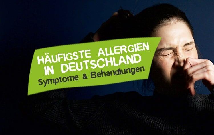 Häufigste Allergien in Deutschland