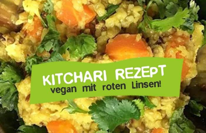 Kitchen Rezept Vegan mit roten Linsen