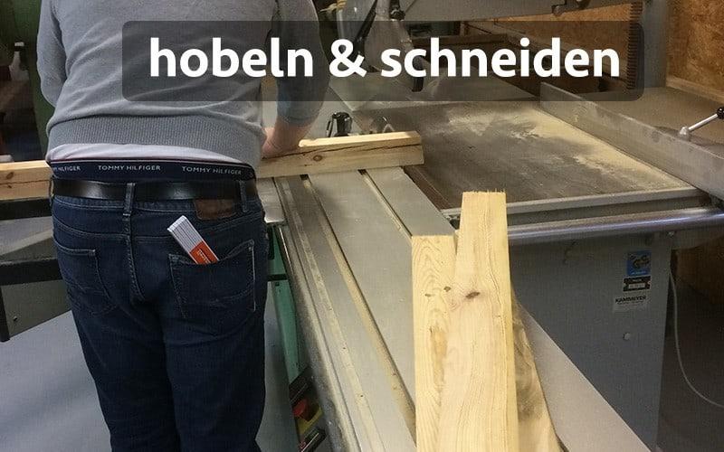 Stehschreibtisch selber bauen Anleitung Holz