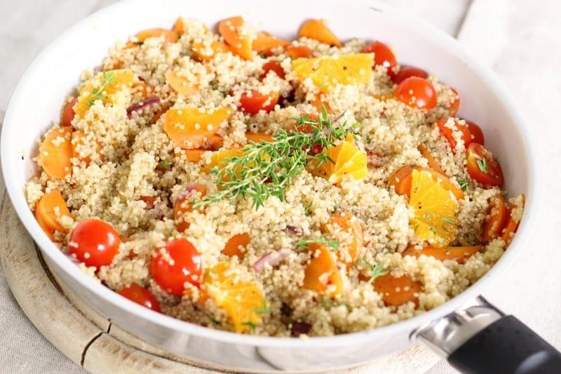 Quinoa als Vegane Proteinquelle zum Proteine vegan abdecken