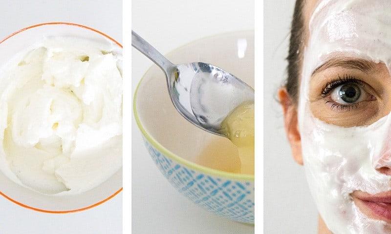 DIY Gesichtspeeling mit Zucker, Honig und Quark