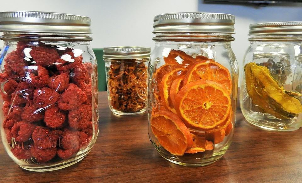 Lebensmittel länger haltbar machen und trocknen