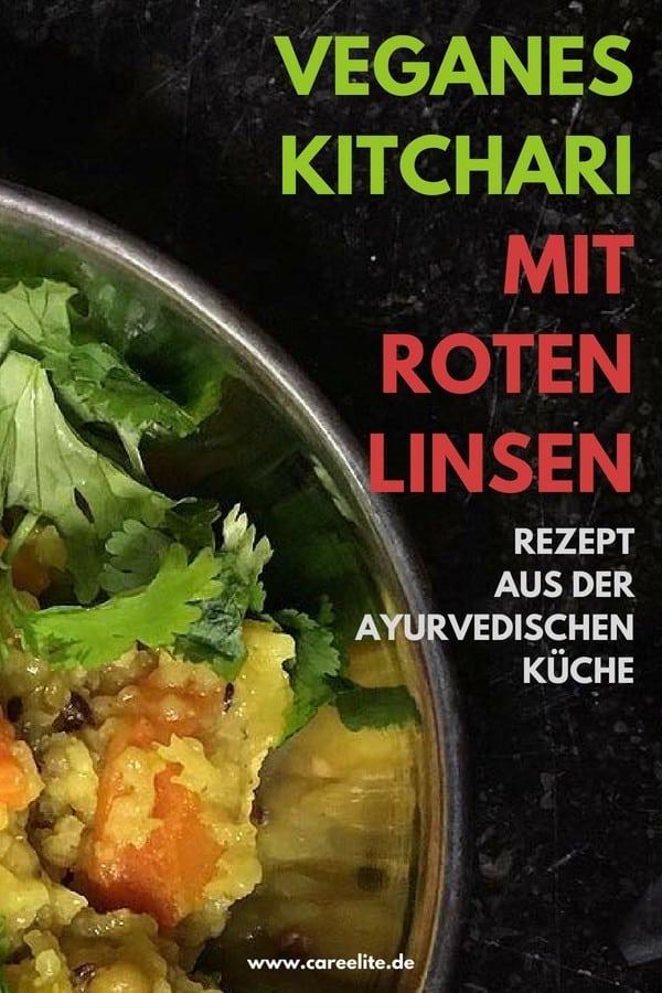 Veganes Kitchari selber machen Rezept