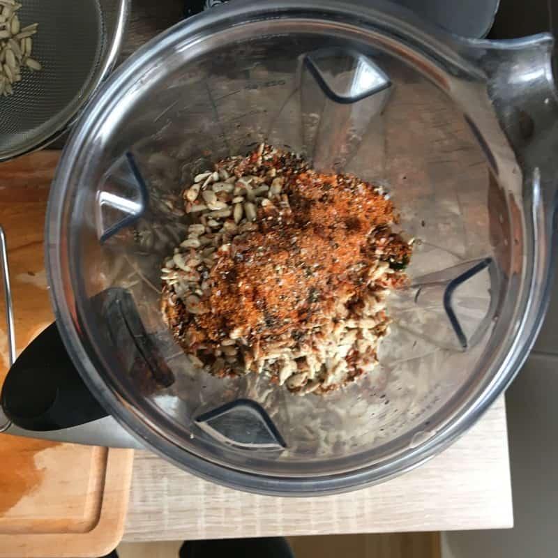 Marinade mixen Grünkohl Grünkohlchips selber machen