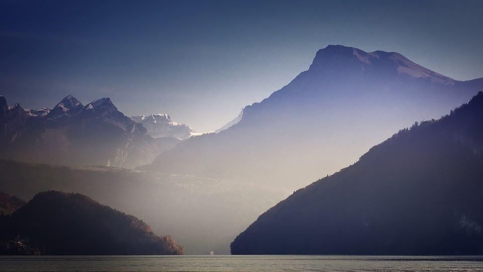 Wandern in der Schweiz Herbst