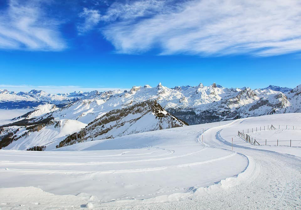 Wandern in der Schweiz WInter