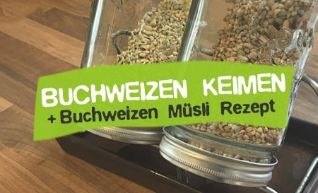 Buchweizen keimen lassen - Buchweizen Müsli Rezept
