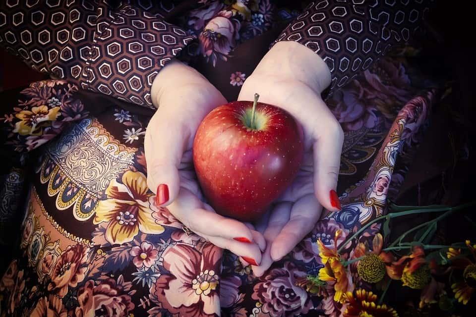 Plastikfreie Monatshygiene - Apfel