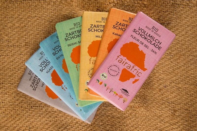 Nachhaltige Schokolade von fairafric aus Afrika - Interview